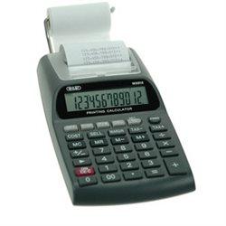 CALCULATRICE IMPRIMANTE 10 CHIFFRES. ECRAN LCD. TETE IMPRES EPSON. DIM. : 95*180*45MM. LIVREE AVEC ADAPTATEUR