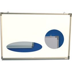TABLEAU BLANC EFFACABLE & MAGNETIQUE  900*1500MM