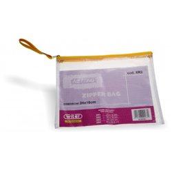 POCHETTE CAISSE PVC TRANSP 24*18cm.