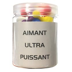 POT 25 AIMANTS ULTRA